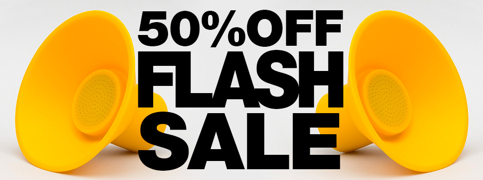 Big Clearance Sale - Everything Half Price - Everything Must Go!