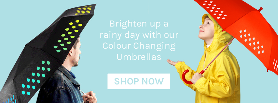 SUCK UK Colour Change Umbrellas