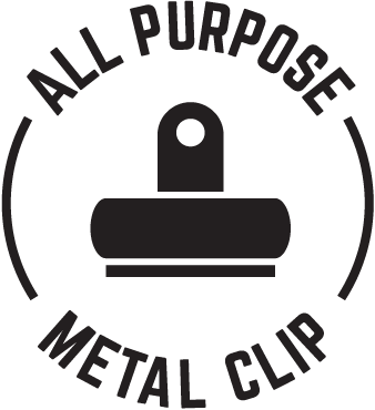 All purpose metal clip