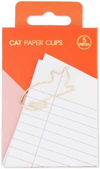 Cat Paper Clips Pack