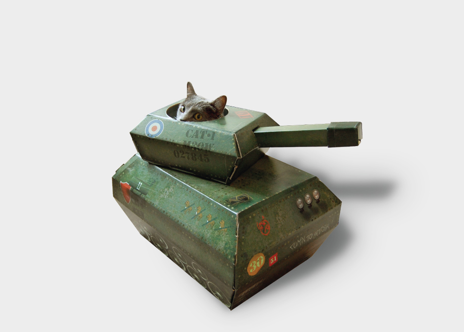cat tank cardboard tanks for cats