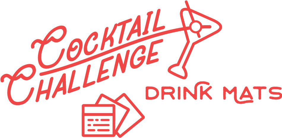 Cocktail Challenge Drink Mats Logo