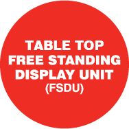 Instant Free Standing Display
