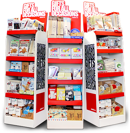 Free Standing Display Units