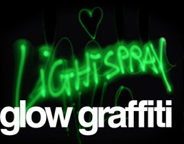 Glow graffiti Light Spray