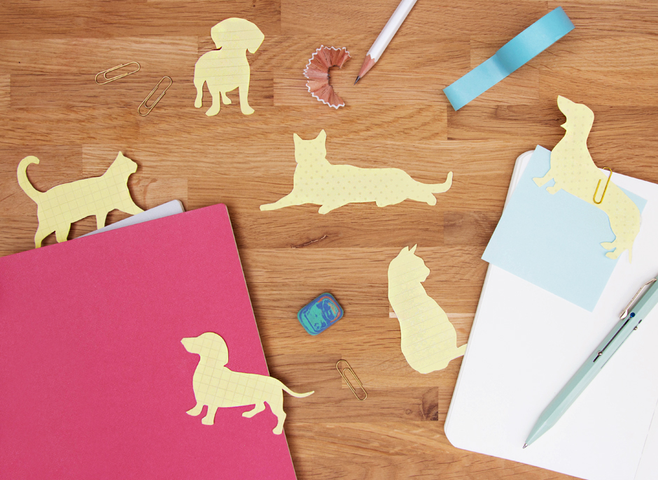 Cat/Dog Paper Clips