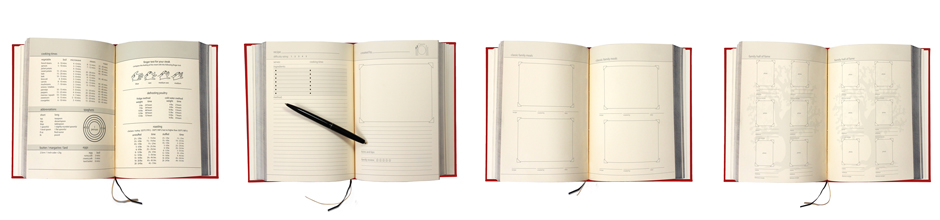 Cook Book with blank pages to fill