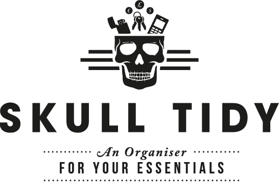 SKULL TIDY - An organiser for your essentials