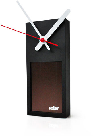 Solar Clock Powered By Light