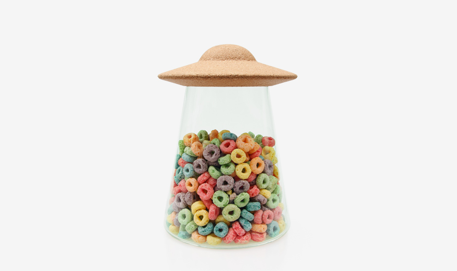 UFO Cerial Storage Jar - Froot Loops