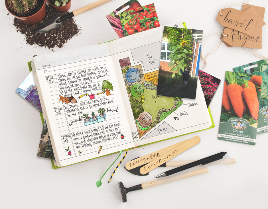 My Gardening Handbook Create a personal horticultural reference book