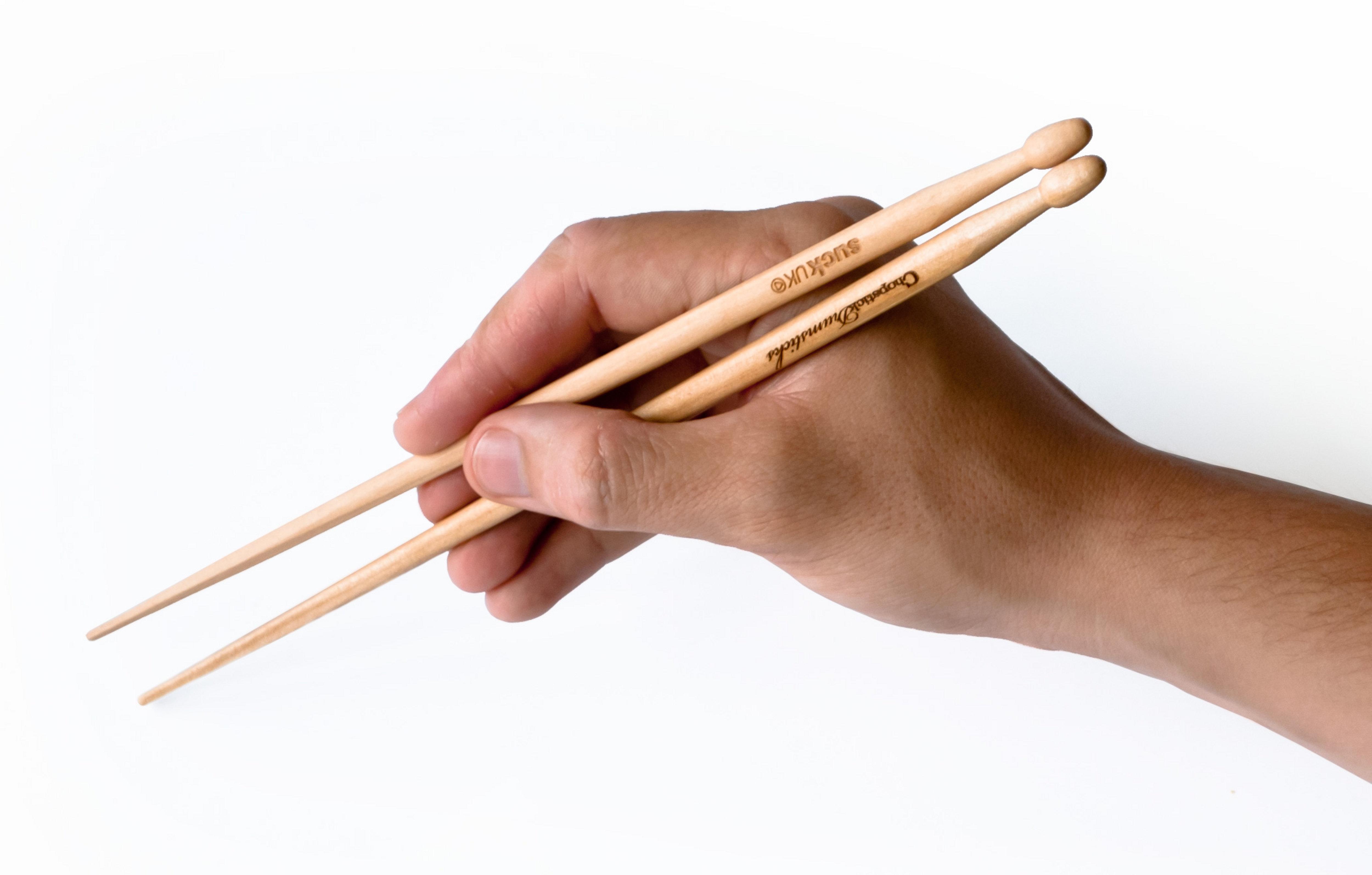 Chopstick drumsticks content gallery make music drum - Comment tenir des baguettes chinoises ...