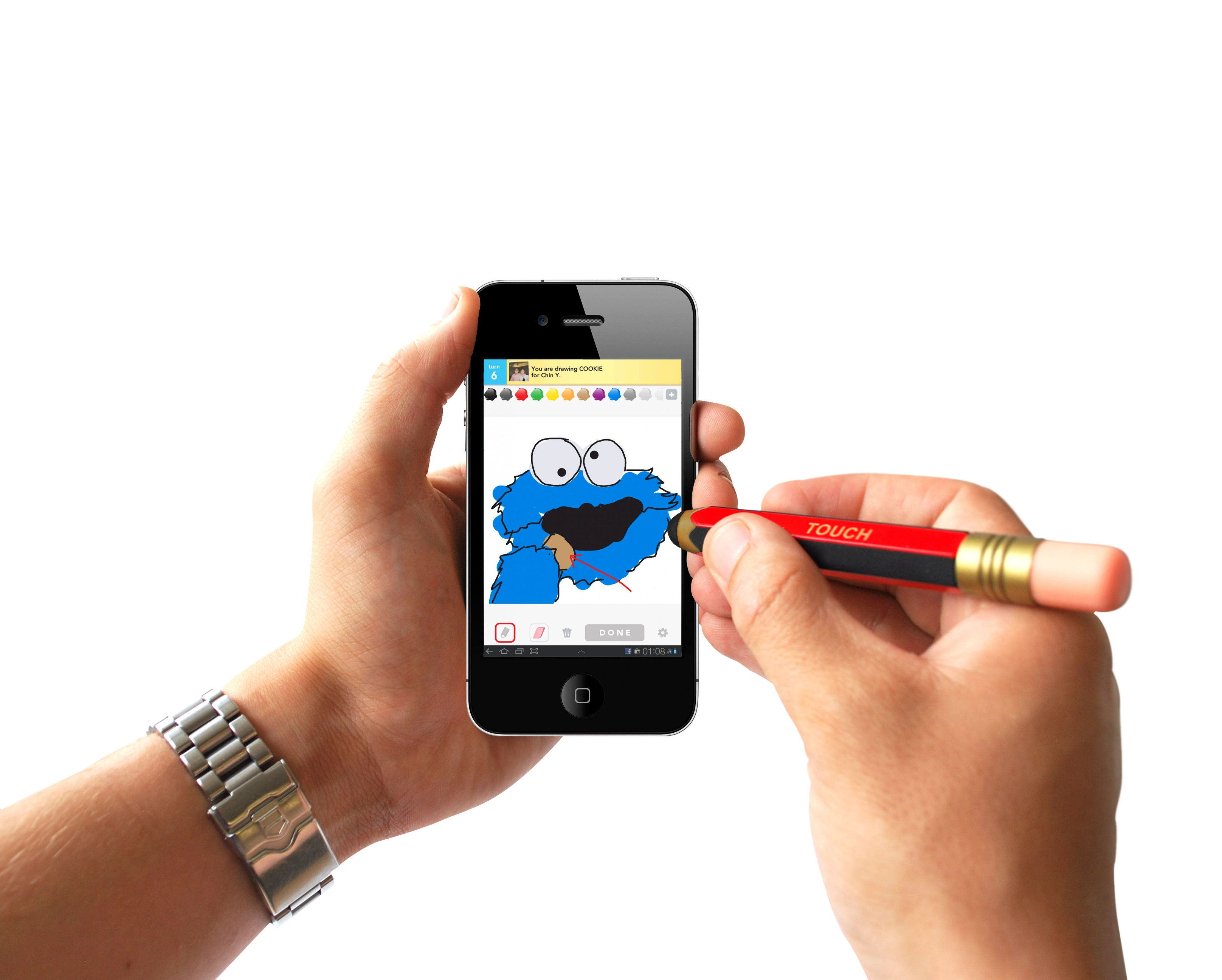 touch screen stylus  pencil  content gallery   more accurate than using your fingers