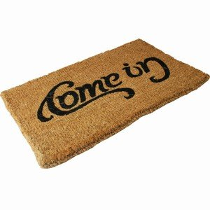 Doormat Come In Amp Go Away Quot Ambigram Quot