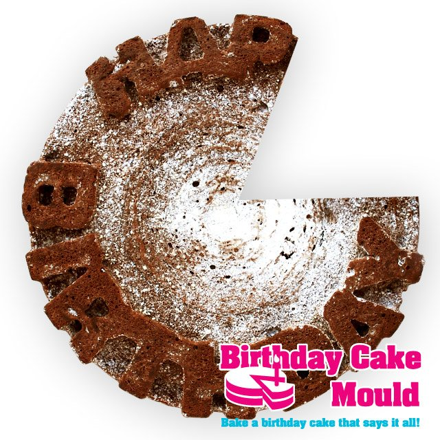 Happy Birthday Cake Content Gallery Silicone Cake Mould Spells Out