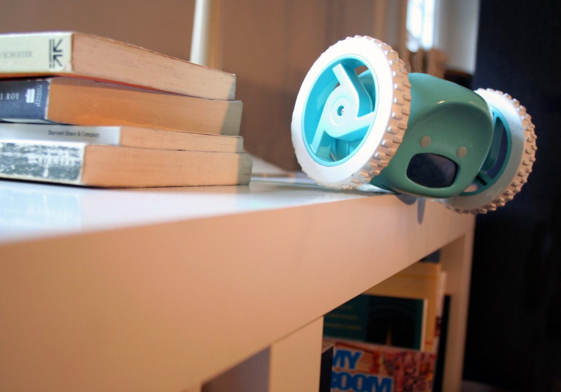 Clocky alarm clock that runs away to get you up for Cool nightstand clocks
