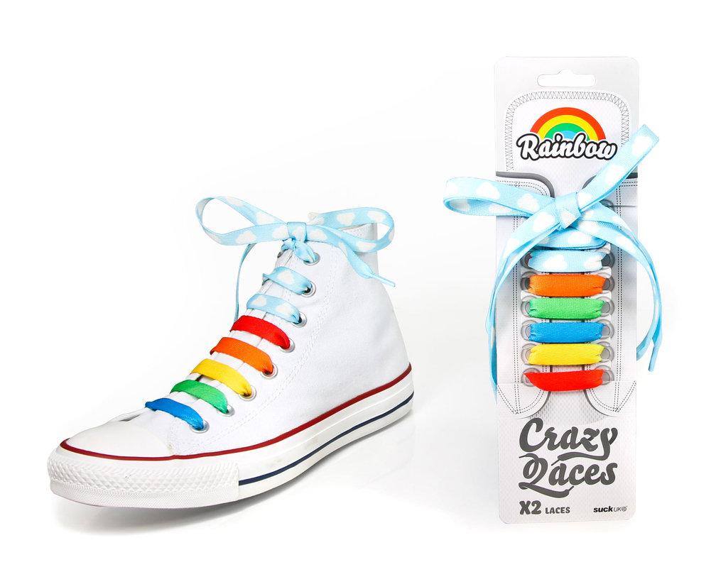 Crazy Shoe Laces Designs