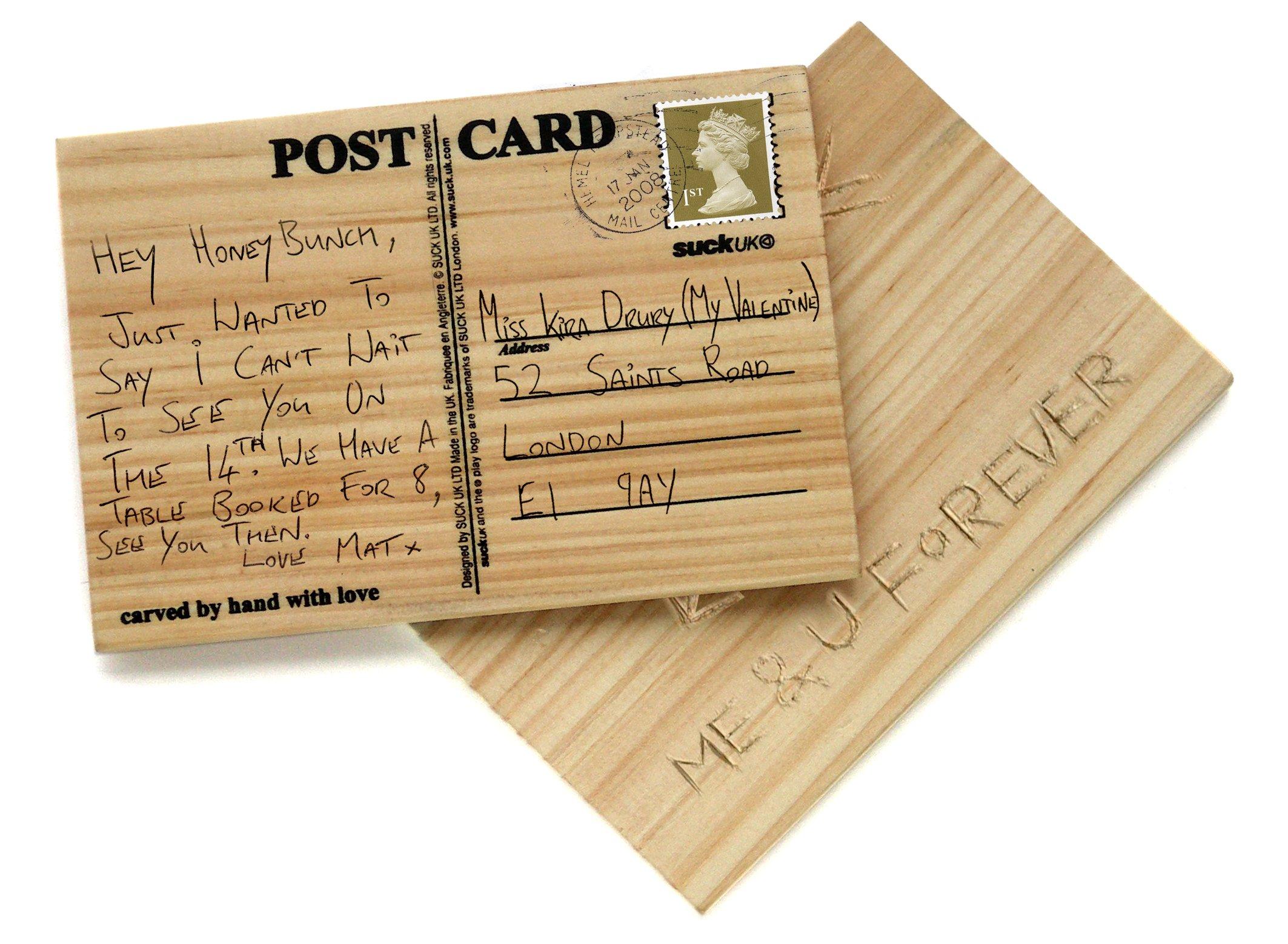 Как оформить открытку для почты
