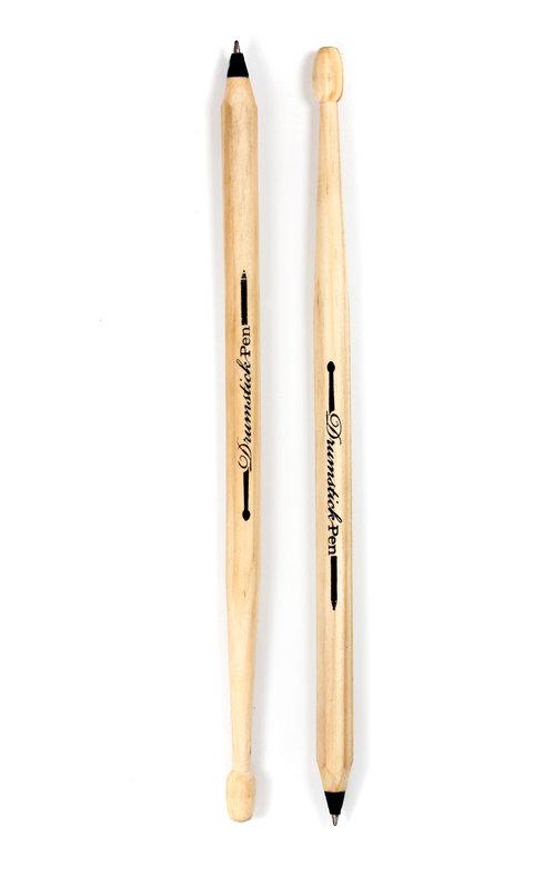 drumstick pen 2 pens that are also fun drumsticks. Black Bedroom Furniture Sets. Home Design Ideas