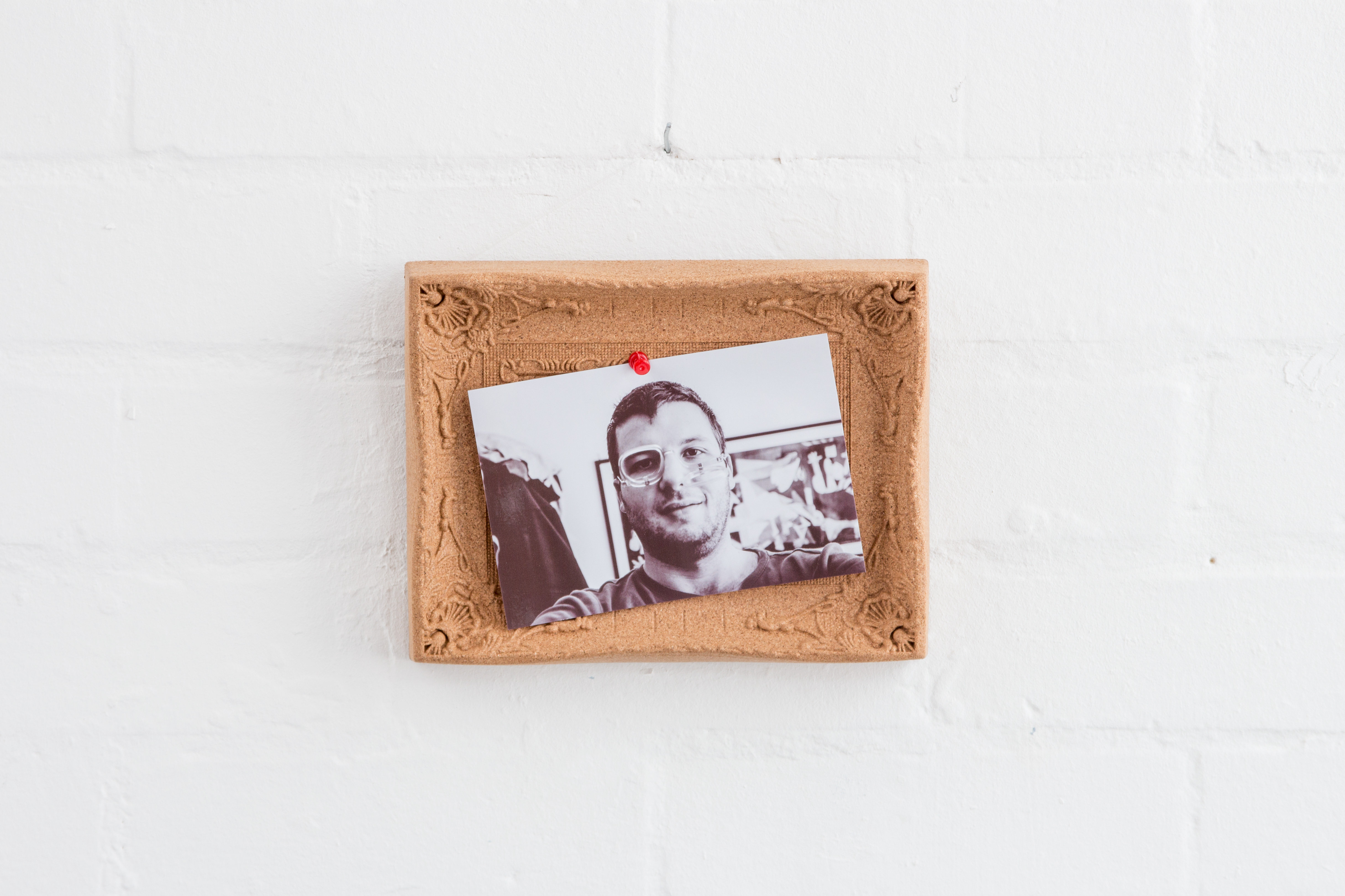 Desktop Cork Pinboard Content Gallery : Ornate picture frame made ...