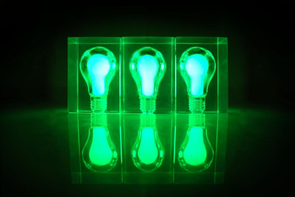 glow brick glow in the dark light bulb night light. Black Bedroom Furniture Sets. Home Design Ideas