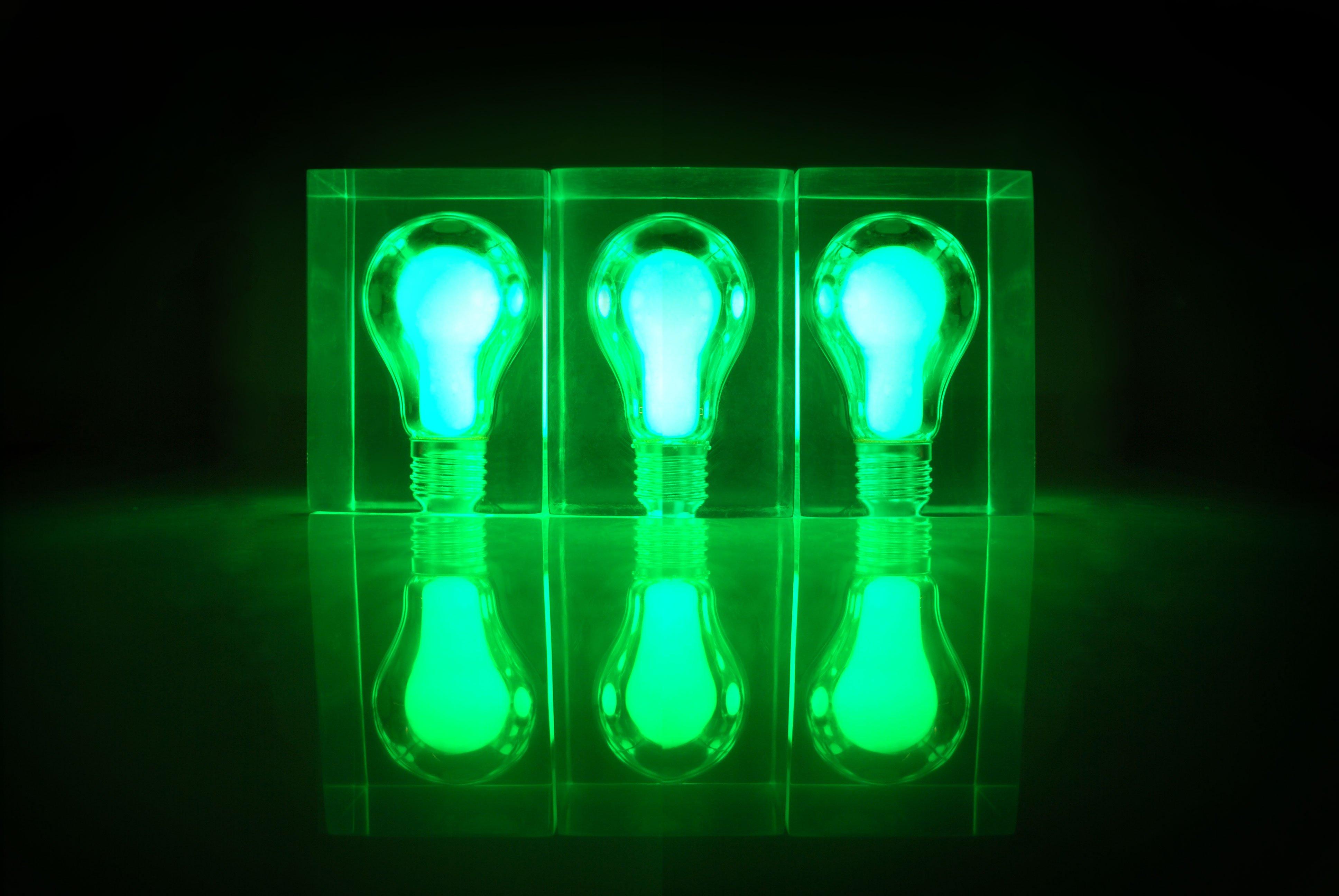 glow brick content gallery glow in the dark light bulb night light. Black Bedroom Furniture Sets. Home Design Ideas