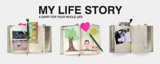 A diary for a whole lifetime of memories