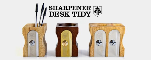 Large sharpener desk tidy