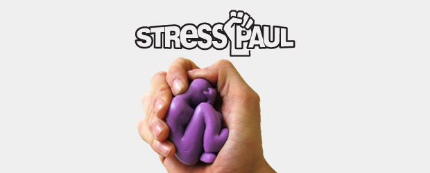 Stress busting rubber toy