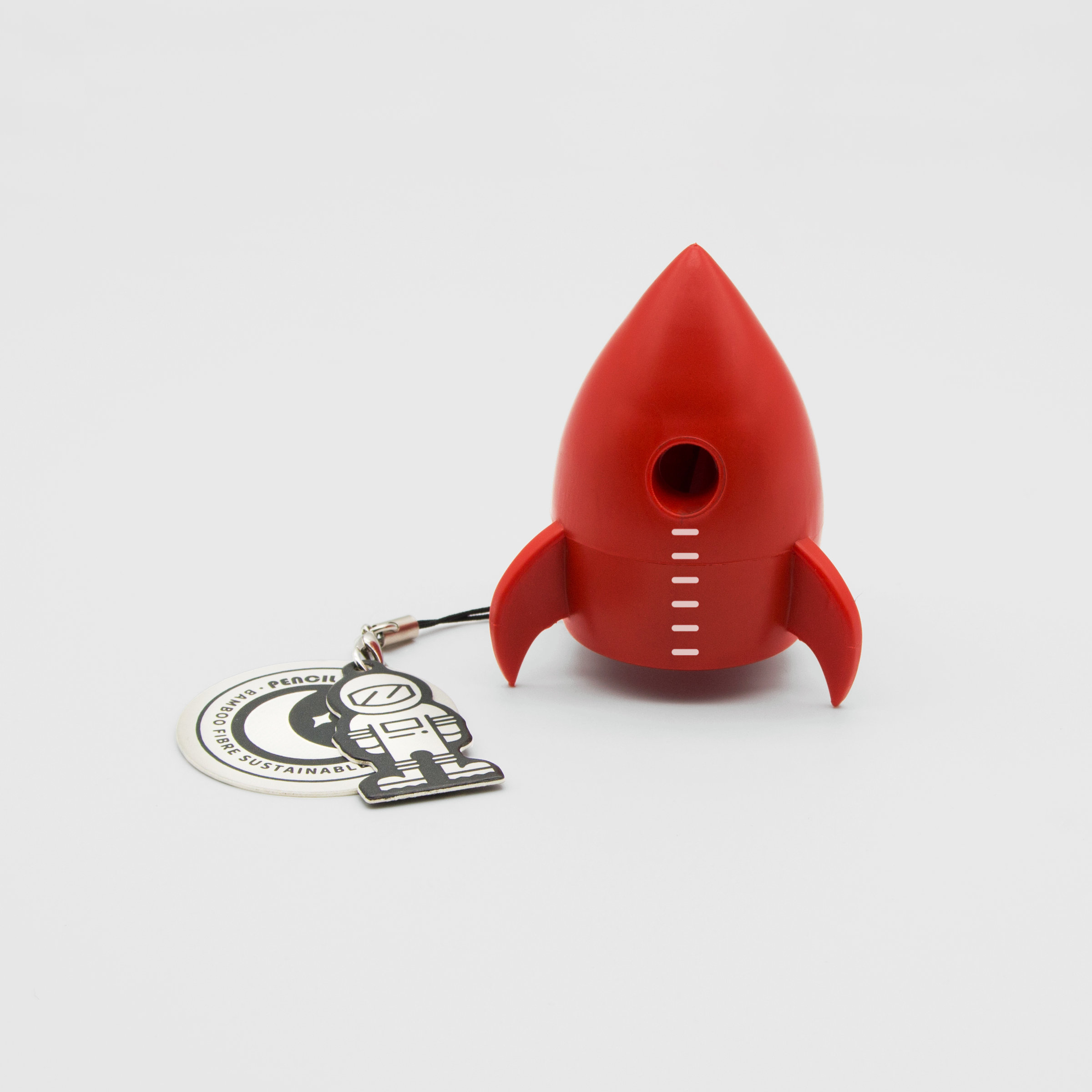 Red Rocket Pencil Sharpener