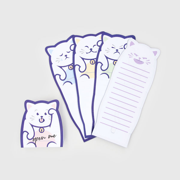 Lucky Cat Note Paper