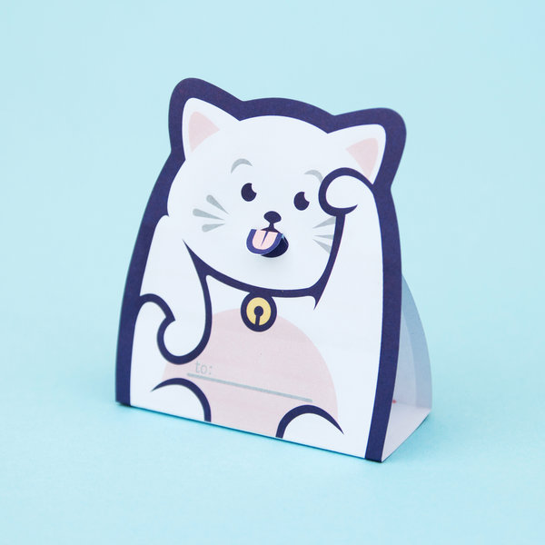 Pack of 5 Small Cat Notepads