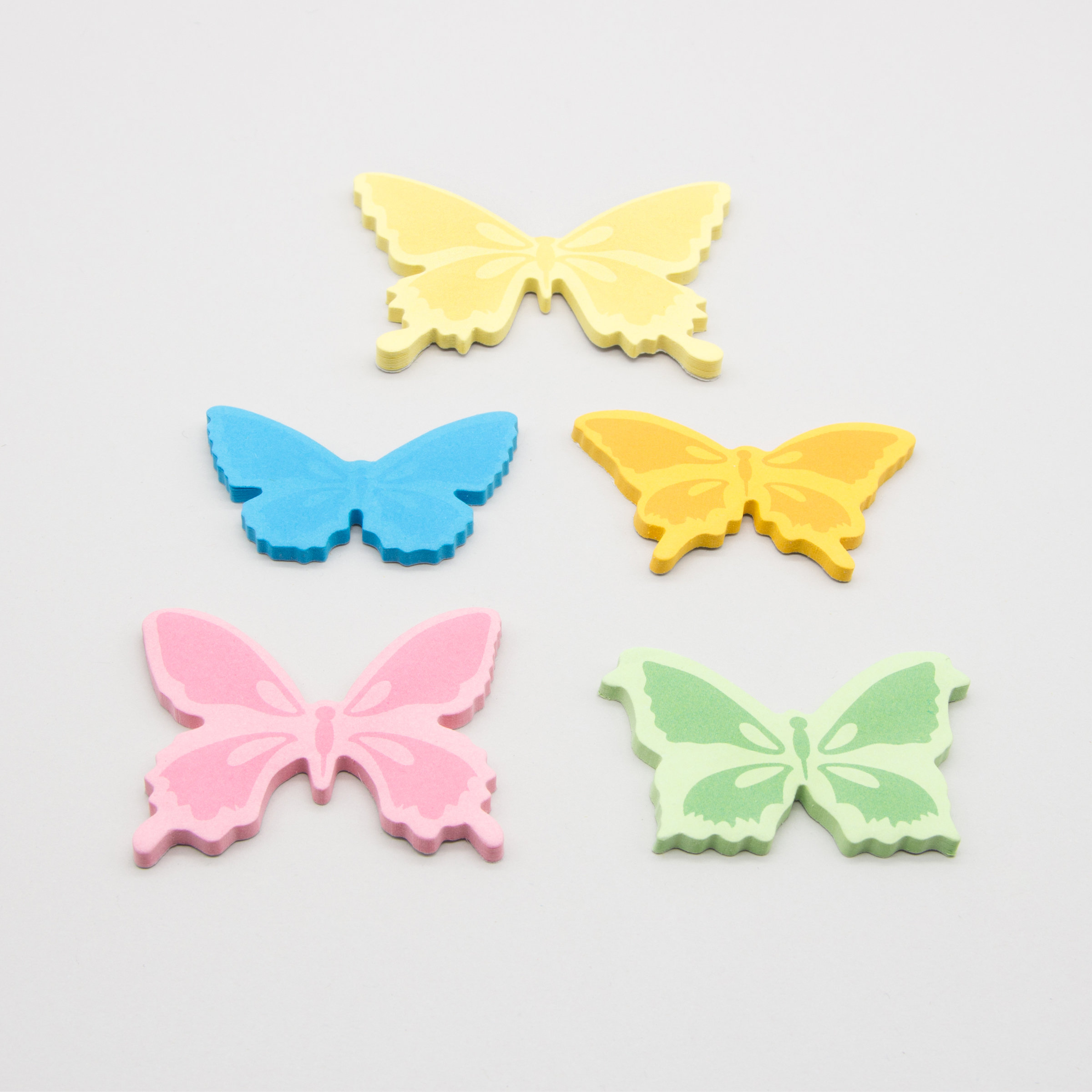 Butterfly sticky notes specimen pack