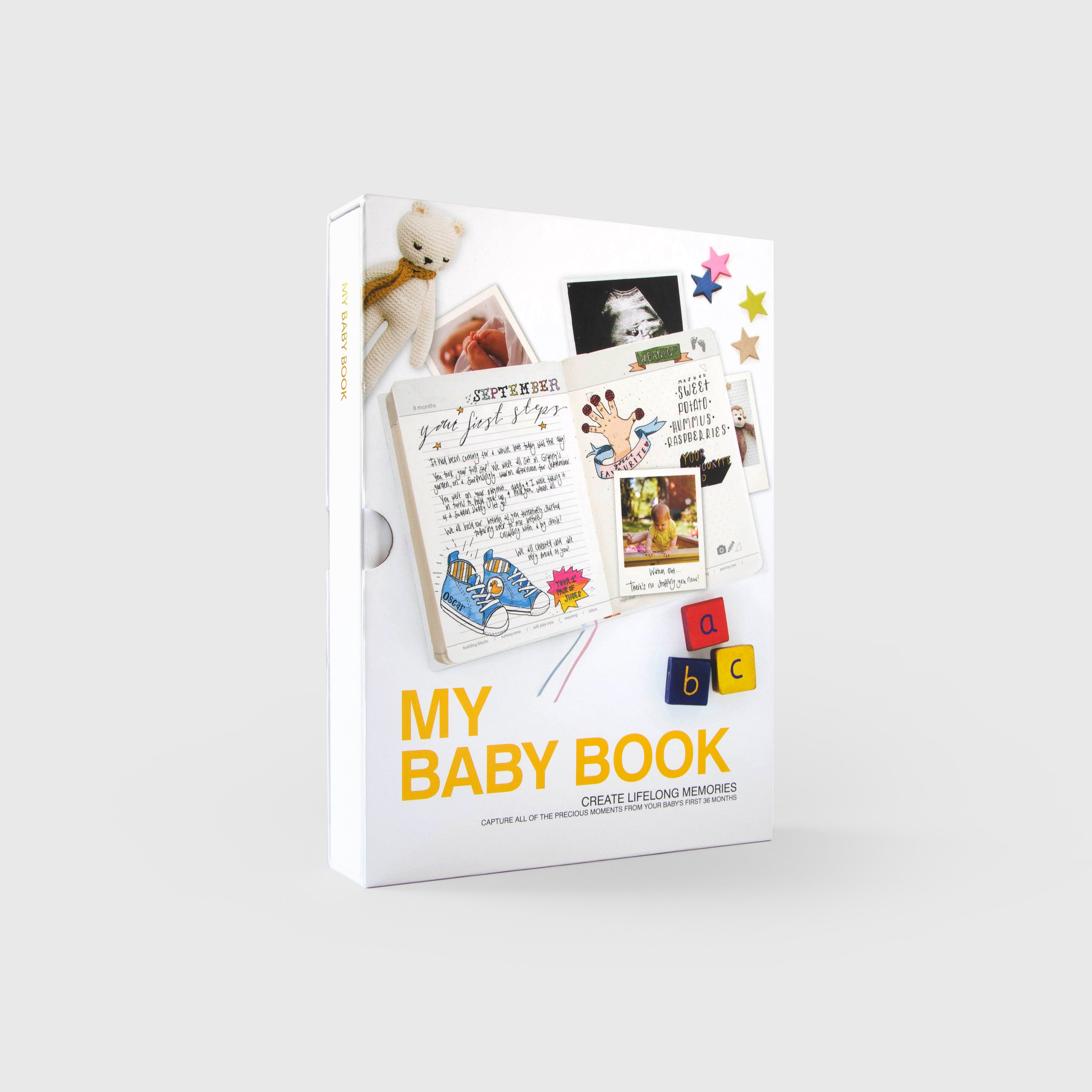 My Baby Book in packaging