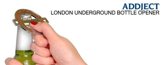 London Underground Bottle Opener Addject S Iconic Opener