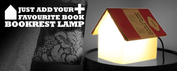 Book rest/reading light
