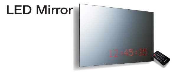 Suck UK LED Mirror: Amazoncouk: