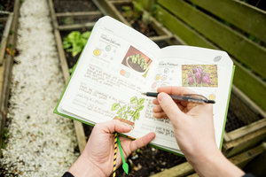 Diary for allotment growers