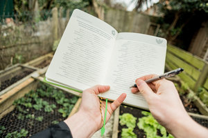 Hardcover Journal for Gardeners and Plant Lovers