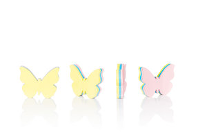 Butterfly Sticky Notes - Adhesive Paper Memo Pads