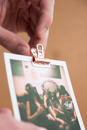 push pin clip corkboard for photos