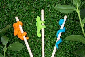 Children's Pencils with Fun Animal Erasers