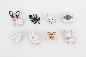 Enamel pins selection perfect Christmas stocking fillers