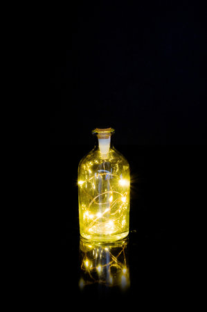 Fairy Lights in a bottle have never been so easy or so rechargeable.