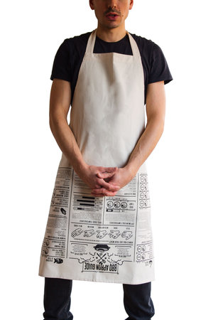 washing machine safe designer kitchen apron