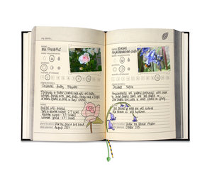 Indoor and outdoor gardening scrapbook