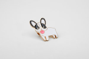 Cute home pet enamel pins for teenagers and university students
