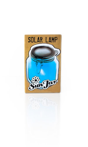 blue solar lights UK