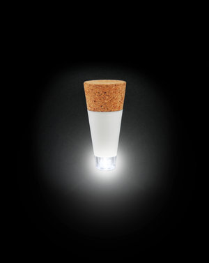 The original Bottle Light design by SUCK UK (shown switcthed on)