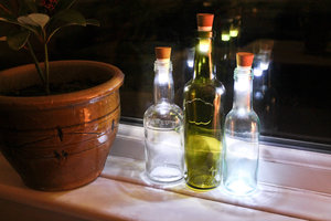 Bottle Light can be used indoors and outdoors